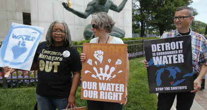 Detroit bankruptcy judge says he can't stop water shutoffs
