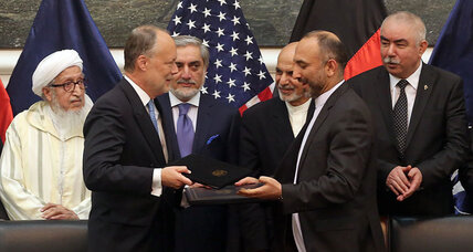 US-Afghan security deal signed: why it's small, but important (+video)