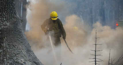California wildfires: 2014 budget spent, as typical high-fire season begins