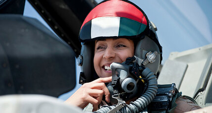 Islamic State: Arab female F-16 pilot stirs debate in Muslim world