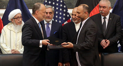 Crisis averted? Afghanistan, US sign security pact