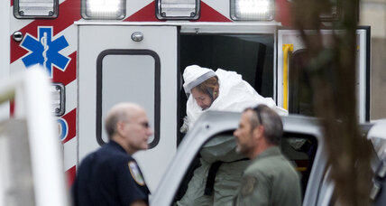 Fourth American infected with Ebola arrives in Atlanta