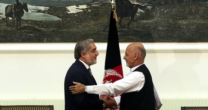 A deal to glue a divided Afghanistan