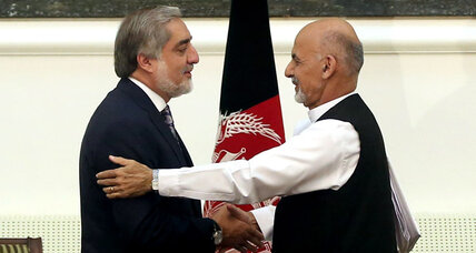 Taliban slams Afghanistan's unity government as president-elect steps forth