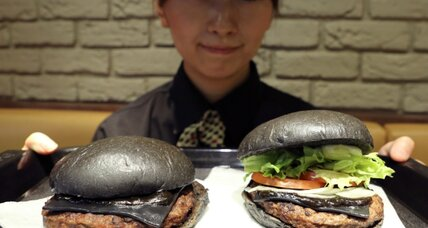Burger King 'black burger' with squid ink goes on sale today