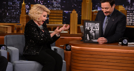 Joan Rivers – bibliophile? Oh yes, very much so