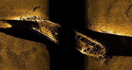 Sunken 19th century British ship discovered in Arctic waters off Canada