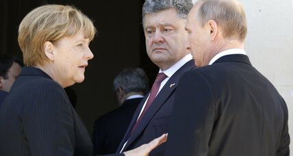 Merkel's leadership style on trial in Ukraine
