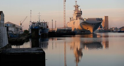 France calls off Mistral warship sale to Russia. Should EU buy it instead?