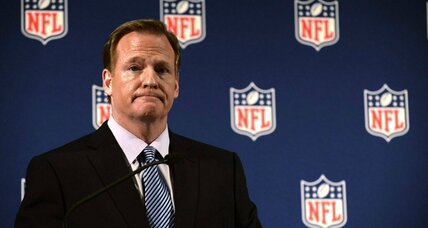 Facing scrum of critics, can Roger Goodell avoid getting sacked? (+video)
