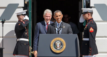 Obama, Clinton mark the 20th anniversary of AmeriCorps