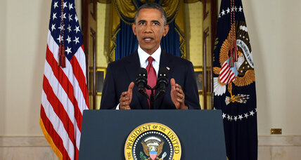 With Islamic State speech, Obama deepens US involvement in Middle East