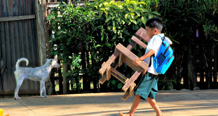 Father Rocky shapes a better future for Filipino children once headed for lives in the streets