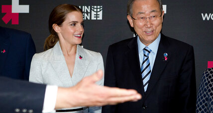 Emma Watson's plea for equality wins men's support