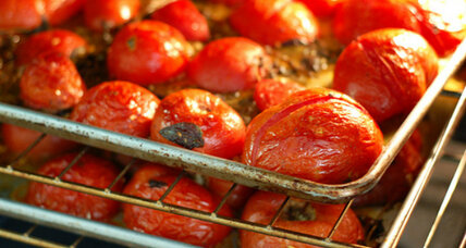 Rustic roasted tomatoes