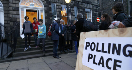 Scots go to the polls amid excitement, apprehension
