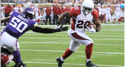 Cardinals running back Jonathan Dwyer arrested on assault charges