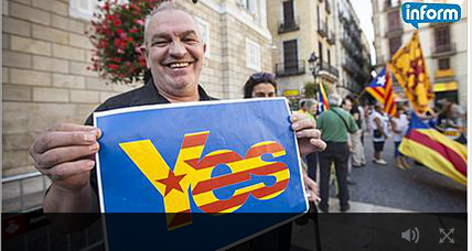 Catalans move forward with a referendum of their own
