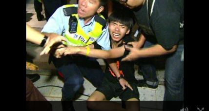 Police arrest dozens, protesters vow to continue in Hong Kong (+video)