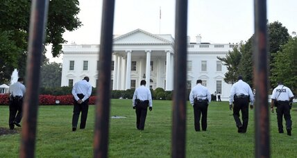 White House fence jumper. How often does that happen?
