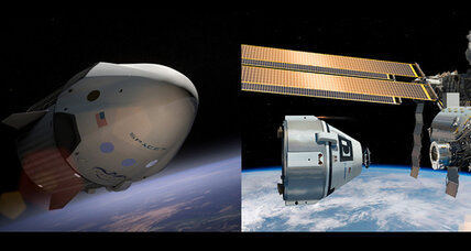 NASA taps SpaceX and Boeing to ferry US astronauts into space