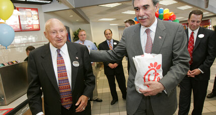 Chick-fil-A founder S. Truett Cathy remembered for fast-food success, gay marriage stance
