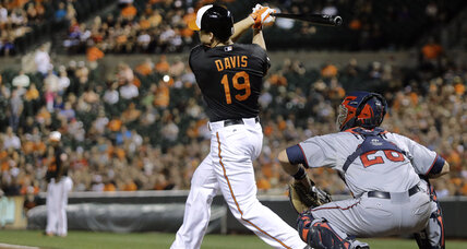 Orioles slugger Chris Davis suspended 25 games for PED use