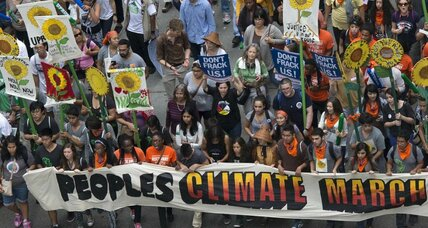 People's Climate March draws 300,000 to Manhattan