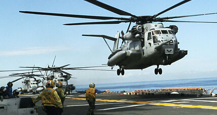 US helicopter crashes in Gulf of Aden: All 25 rescued