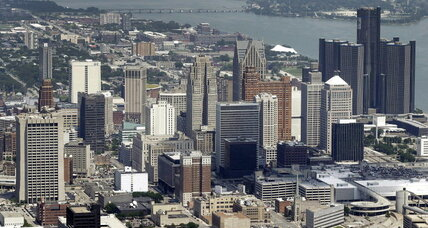 Detroit's historic bankruptcy trial has its first day in court
