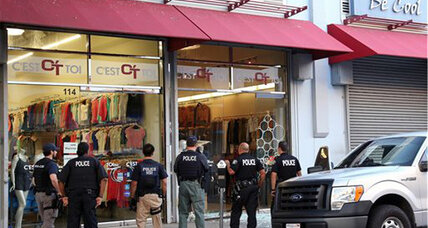 Fashion district raid finds $100 million of laundered Mexican cartel ransom money