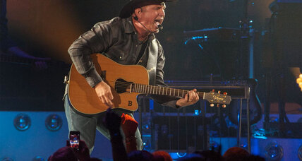 Garth Brooks is back on the road after time away from the music industry