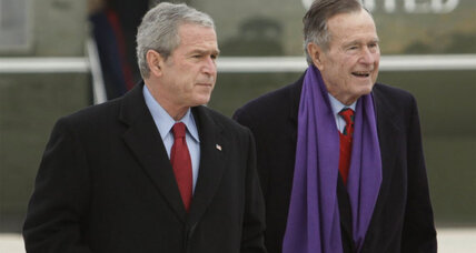 Title, cover, and other details of George W. Bush's book on his father are revealed