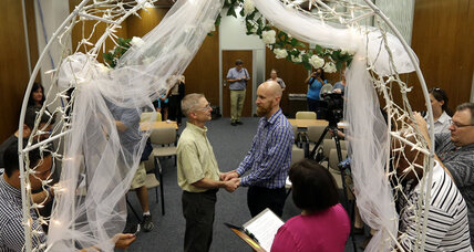 Federal appeals court rules against gay marriage bans in two states