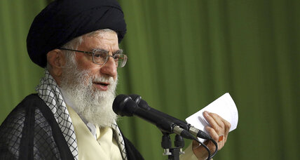 Iran's supreme leader said to approve military cooperation with US