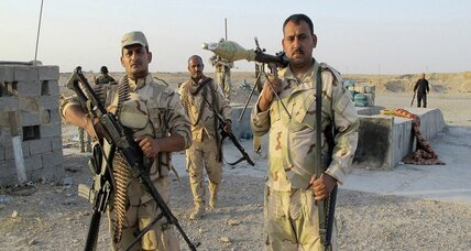 A brush with death in the fight against the Islamic State in Iraq