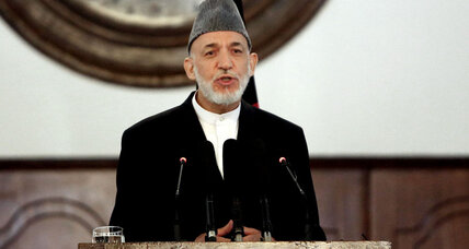 Afghanistan's Karzai blasts US on way out of office
