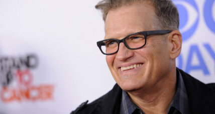Drew Carey drowns out bullies who pull ice bucket prank