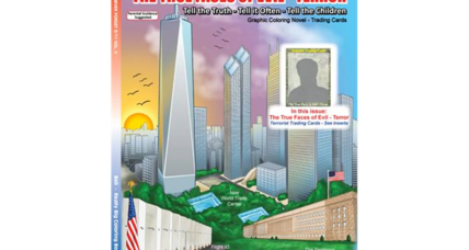 Chapter Verse Terrorist Themed Coloring Books For Kids Instructive Or Inflammatory