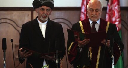 New Afghan president sworn in; US security pact to be signed