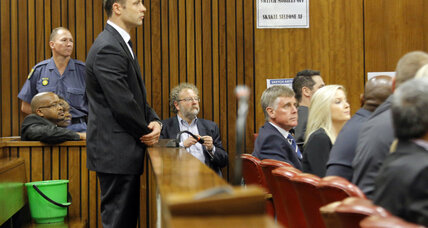 S. African judge rules out 'murder' verdict for Oscar Pistorius