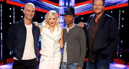 Gwen Stefani, Pharrell Williams debut as judges on 'The Voice'