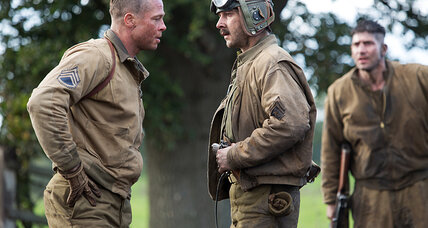 'Fury' is a solid World War II movie throwback