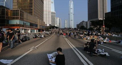 Hong Kong's 'Umbrella Revolution': the politest protests ever? (+video)