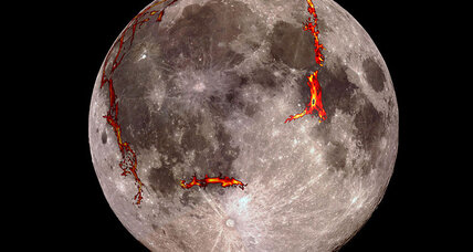 Scientists discover origins of moon's largest basin