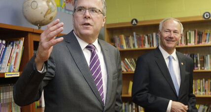 George W. Bush says Jeb 'wants to be president.' Really?