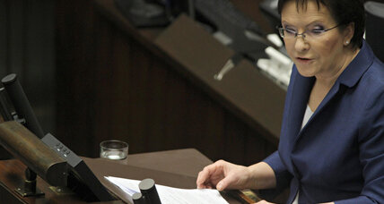 To mother or not to mother? Poland's new PM hits bump by citing her gender. (+video)