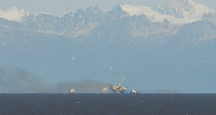 Gas platform fire forces evacuation in Alaska