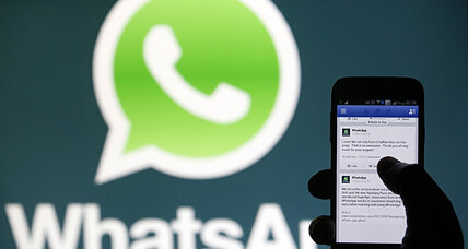 Facebook (FB) gets approval for WhatsApp merger