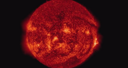 Watch this spectacular explosion on the sun